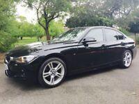 2014 BMW 3 SERIES 2.0 320D M SPORT (BLACK) 4D 184 BHP DIESEL