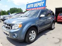 2011 Ford Escape LTD 4WD CUIR TOIT BLUETOOTH SIEGES CHAUFF