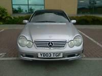Mercedes 2003 C180 Compressor,Auto,Coupe