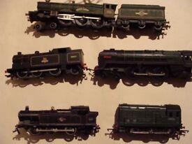 Vintage hornby electric train sets 1950s. Three rail & 2 rail. Excellent condition