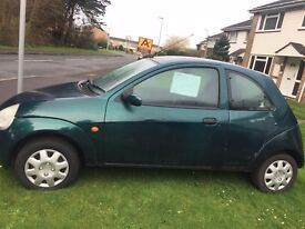 Ford KA 2002 1year mot