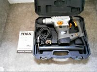 Titan rotary SDS hammer drill