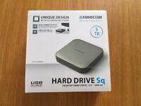 """Freecom Hard Drive Sq 3TB Desktop hard drive, 3.5"""", USB3.0. *** NEW, UNUSED, UNOPENED ITEM ***"""