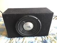 Jbl sub woofer speaker cheap clearing used working £10