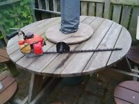 "Arrow Hedge Trimmer. Mitsubishi 2 stroke engine. 29"" blade."