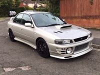 Subaru impreza uk2000 turbo modified 287bhp sti bits
