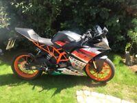 2016 KTM RC 125cc