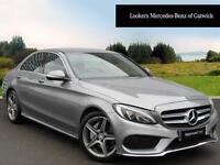 Mercedes-Benz C Class C220 BLUETEC AMG LINE (silver) 2014-10-31