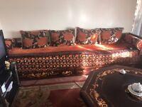Moroccan Sofa Salon Set // Sala Maghribiya