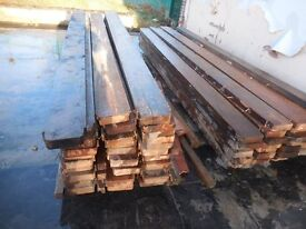 RECLAIMED TIMBER 8x2 12ft long DERBY