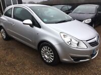 VAUXHALL CORSA 1.2 i 16v CLUB HATCH 3DR 2007(56)*IDEAL FIRST CAR*CHEAP INSURANCE*EXCELLENT CONDITION