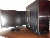 Gaming computer + Monitor