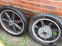 yamaha xs wheels 250/400/650