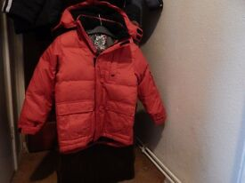 Jackets/ coats, as new 3/4 and 7/8 yrs £ 5- £10. each
