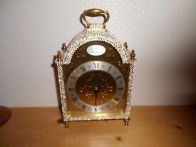 tempus fugit carrige clock with swarovski crystals