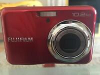 Fujifilm 10.2 megapixel camera, red