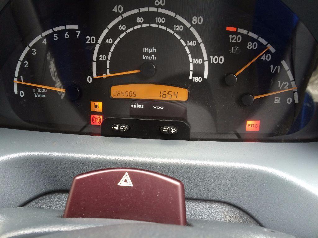 Edc Warning Light Mercedes