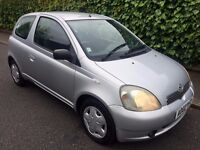 2002 TOYOTA YARIS AUTOMATIC 5 DOOR HATCHBACK