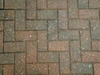 red block pavings and slate pictures attached.