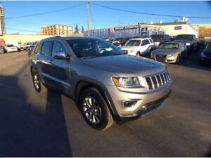 2016 Jeep Grand Cherokee / LIMITED / 3.6 / LEATHER / B/U CAMERA