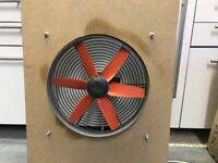 """Vortice 14"""" Industrial Fan and Grille - Very Powerful - 700W !"""