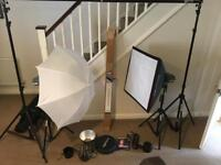 Studio lights interfit ex150 photography studio lights