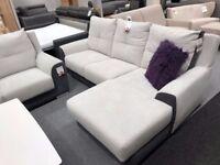 L-shape Corner sofa - extra comfy *Brand New ** Great Offer **
