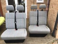 VW T5 front bench seats