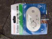 Carbon Monoxide Detector Alarm With Batteries CO Lifesaver BNIB
