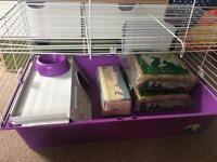Indoor guinea pig/ small rabbit cage