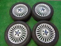 """FORD FOCUS, GALAXY, MONDEO,TRANSIT CONNECT, C-MAX, S-MAX 16"""" inch ALLOY WHEELS"""