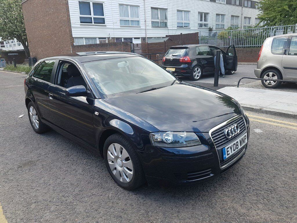 audi a3 sportback 1 6l 2008 auto in bethnal green. Black Bedroom Furniture Sets. Home Design Ideas