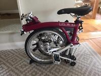 3 speed Brompton bike