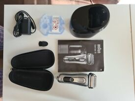 Braun Series 9 9290cc Men's Electric Foil Shaver Wet & Dry + CLEANING STATION