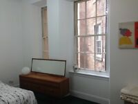 Double room available in shared Finnieston flat - short term o.k