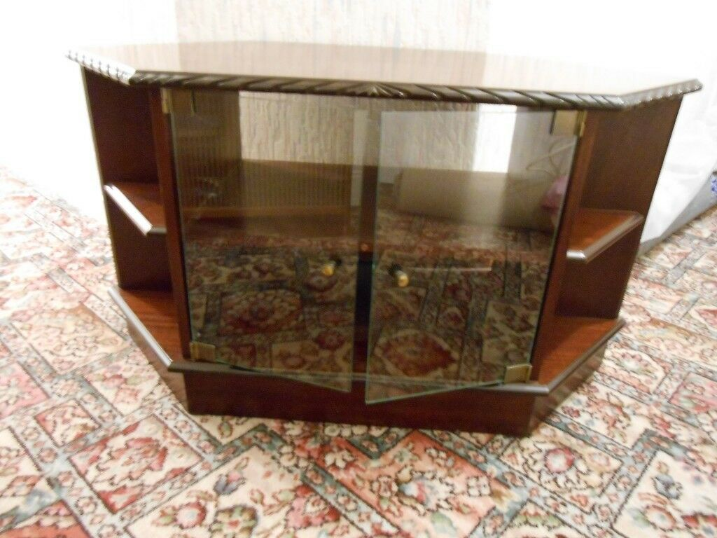 Tv Unit With Glass Doors In Dunamanagh County Tyrone Gumtree