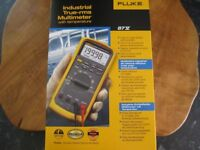 fluke 87v multimeter brand new