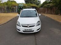 Vauxhall Zafira 1.7 CTDI Ecoflex Exclusive 5dr (14 REG) - 66000 Genuine Low Mileage + 7 Seater