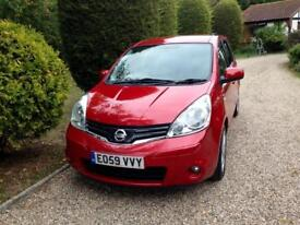 Nissan note ntec automatic only 72000 fsh