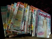 Sewing World magazines x 28