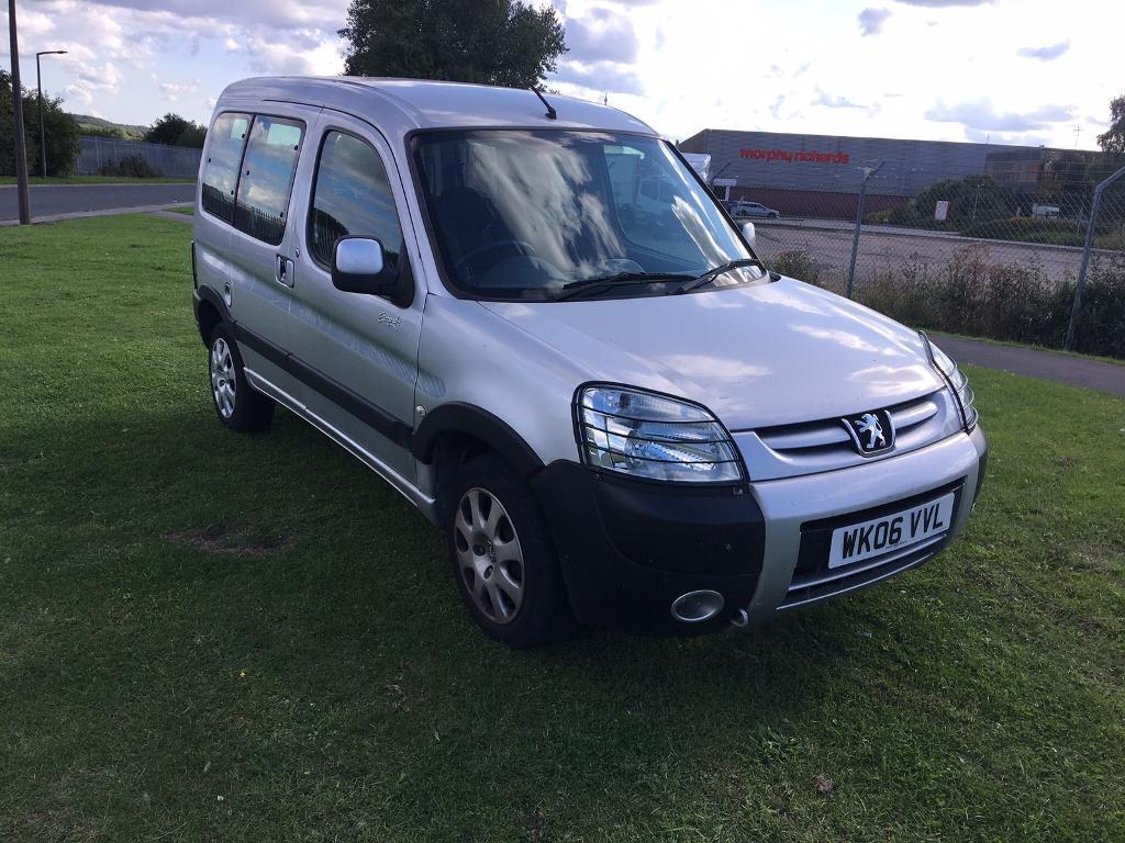 06 REG PEUGEOT PARTNER COMBI 1.6 HDi ESCAPADE 5DR-12 MONTHS MOT-LOW ROAD TAX-GREAT MPG-DRIVES WELL