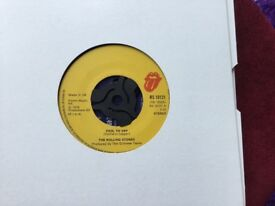 RS 19121 the Rolling Stones fool to cry/ crazy mama 45 single day 1976 GC ok to post with paypal