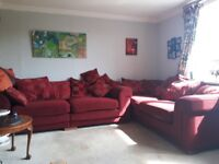 2 x four seater settees
