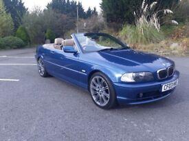 2003 BMW CONVERTIBLE 2.2 AUTO PETROL