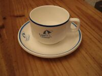 Wedgewood China Legal & General Teacup and Saucer