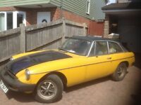 MGB GT restoration project