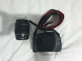 Canon EOS 600D DSLR Camera +18-55mm 1:3-5-5.6 III lens + Canon Battery & Charger