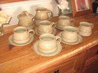 Denby Stoneware Tea Set