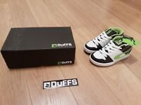 Buy Boys / Childs Duffs trainers / boots uk2 & get 3 jackets for FREE!