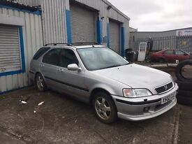 Honda Civic MC2 B18C4 S9B LSD 97000 BREAKING PARTS MB6 B18 SILVER